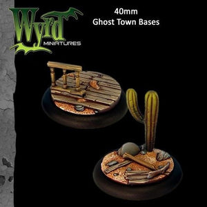 Malifaux : 40mm Ghost Town Bases (2)