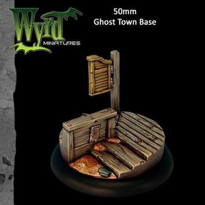 Malifaux : 50mm Ghost Town Base