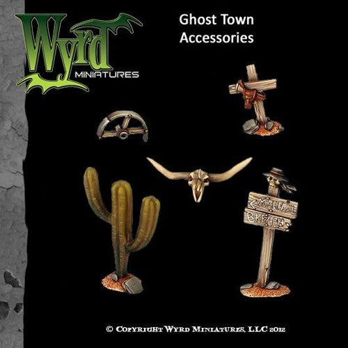 Malifaux : Ghost Town Base accessories