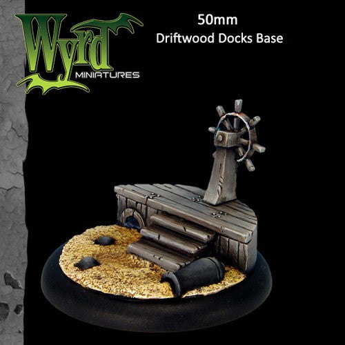Malifaux : 50mm Driftwood Docks Base