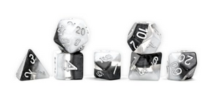 Supernova; Yin Yang 7 dice set