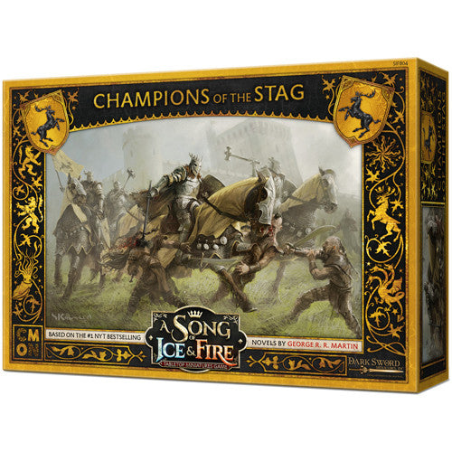A Song of Ice & Fire : Baratheon Champions of the Stag (pre order)