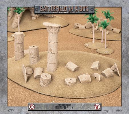 Battlefield in a box: Forgotten City - Buried Ruin
