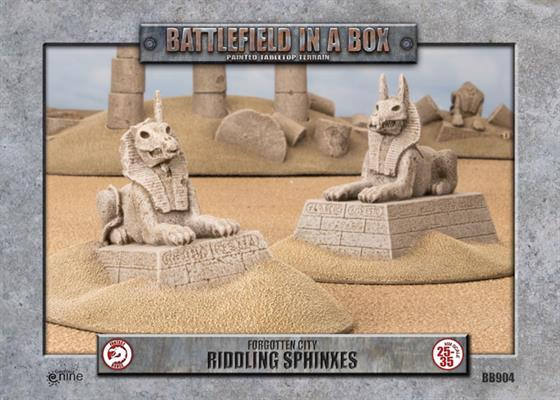 Battlefield in a box: Forgotten City - Riddling Sphinxes