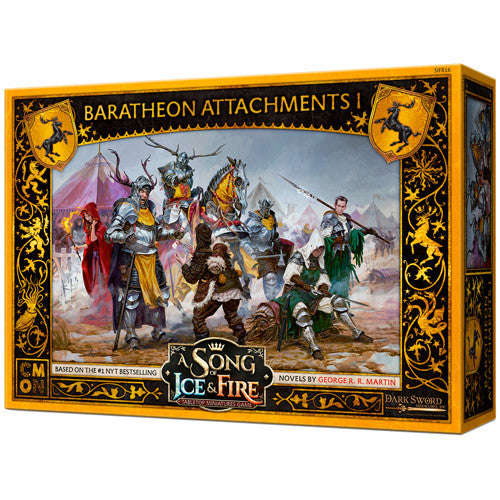 A Song of Ice & Fire : Baratheon attachments 1 (pre order)