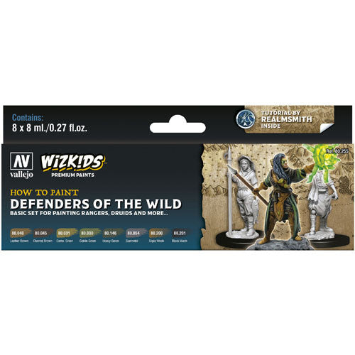 WizKids Premium Paints: Defenders of the Wild