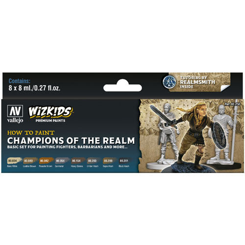 WizKids Premium Paints: Champions of the Realm