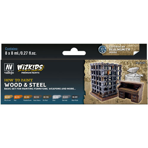 WizKids Premium Paints: Wood & Steel