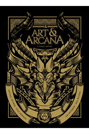 Dungeons and Dragons: Art and Arcana Special Edition Book