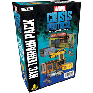 Marvel: Crisis Protocol-NYC Terrain Pack (Preorder)