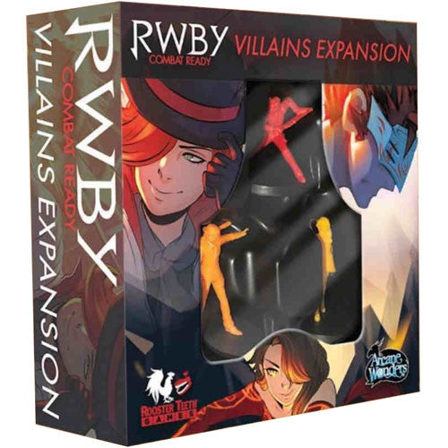 RWBY Combat Ready Villians Expansion
