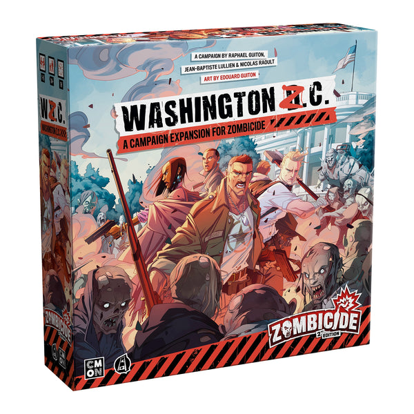 Pre Order : Zombicide 2nd edition - Washington Z.C.