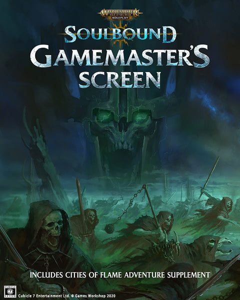 Warhammer Age of Sigmar : Soulbound Game-Master's Screen (Pre-order)