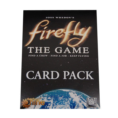 Firefly : the game - special card pack