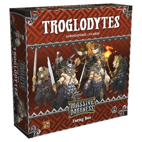 Massive Darkness - enemy box : Troglodytes
