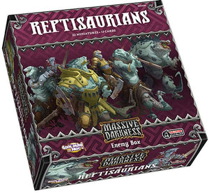 Massive Darkness - enemy box : Reptisaurians