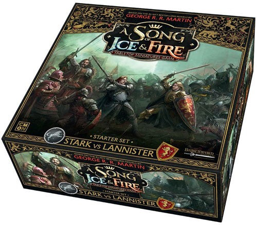 A Song of Ice & Fire : Stark Vs Lannister (Kickstarter exclusives for the first 6 pre-orders)