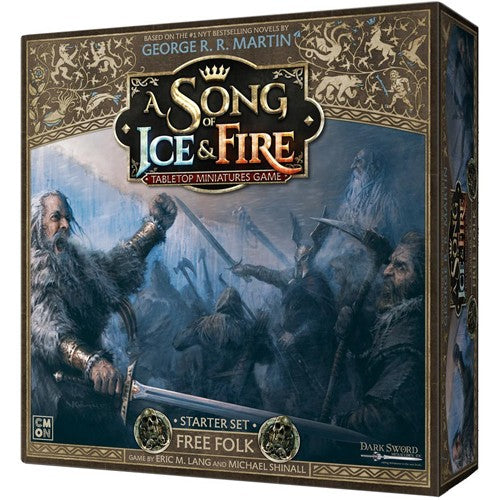 A Song of Ice & Fire : Free Folk starter set (Mid January pre order)
