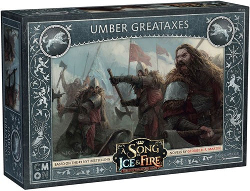 A Song of Ice & Fire : Umber Greataxes (Mid October pre order)