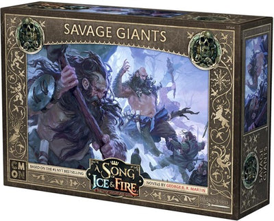 A Song of Ice & Fire : Savage Giants