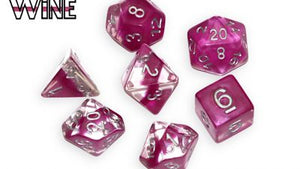 Neutron : Wine - 7 dice set