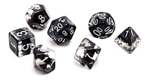 Neutron Dice : Smoke - 7 dice set