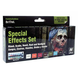 Vallejo Model Color Paint - Special Effects Set