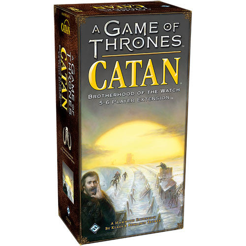 A Game of Thrones Catan : Brotherhood of the Watch 5-6 player expansion