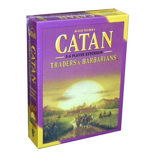 Catan Traders & Barbarians :  5-6 player expansion