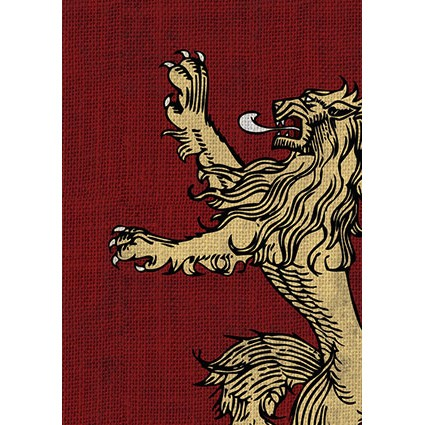 Fantasy Flight Card Sleeves: A Game of Thrones - House Lannister (50)