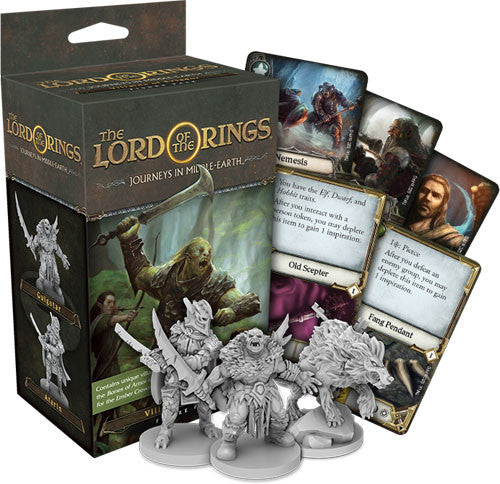 The Lord of the Rings : Journeys in Middle Earth: Villains of Eriador