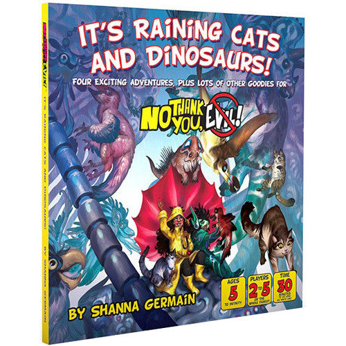 No thank you, Evil :  RPG - It's raining cats and dinosaurs!