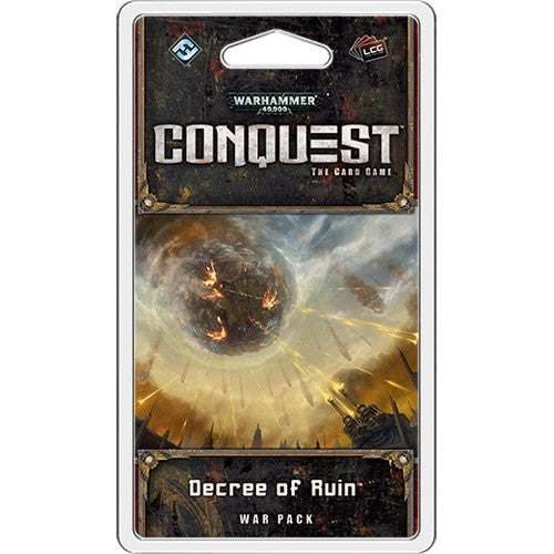 Warhammer 40,000: Conquest - Warpack : Decree of Ruin