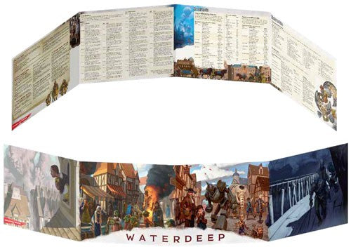 Waterdeep: Dragon Heist DM screen (September 18)