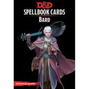 Dungeons & Dragons - Spellbook Cards : Bard