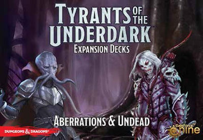 D&D Tyrants of the Underdark - Aberrations & Undead expansion decks