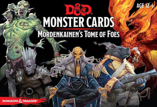 Dungeons & Dragons - Monster Cards - Mordenkainen's Tome of Foes