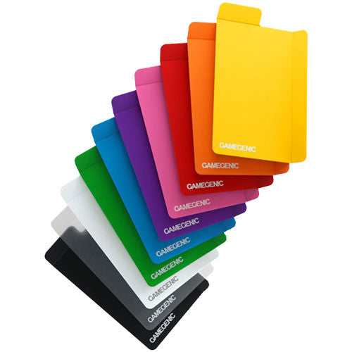 Gamegenic card dividers (10) various colors