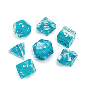 Neutron : Glacier - 7 dice set