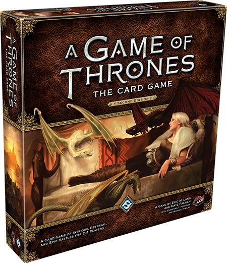 A Game of Thrones : the card game (2nd ed.)