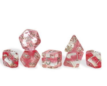 Neutron : Bubble Gum - 7 dice set