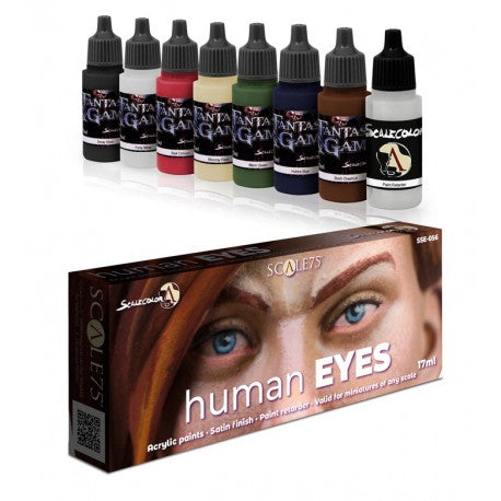 Human Eyes Paint Set