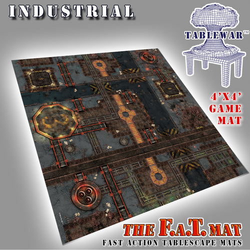 Industrial 4 x 4 FAT Mat