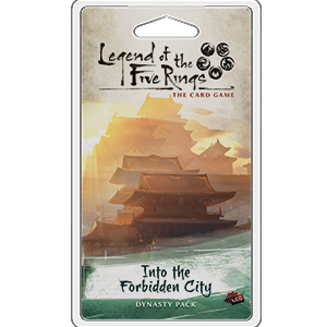 Legend of the Five Rings - LCG : Into the Forbidden City dynasty pack