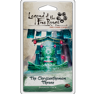 Legend of the Five Rings - LCG : The Chrysanthemum Throne Dynasty Pack