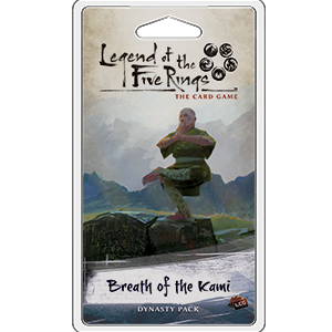 Legend of the Five Rings - LCG : Breath of the Kami Dynasty pack