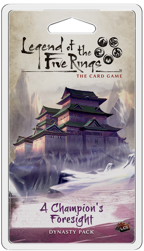 Legend of the Five Rings - LCG : A Champion's Foresight