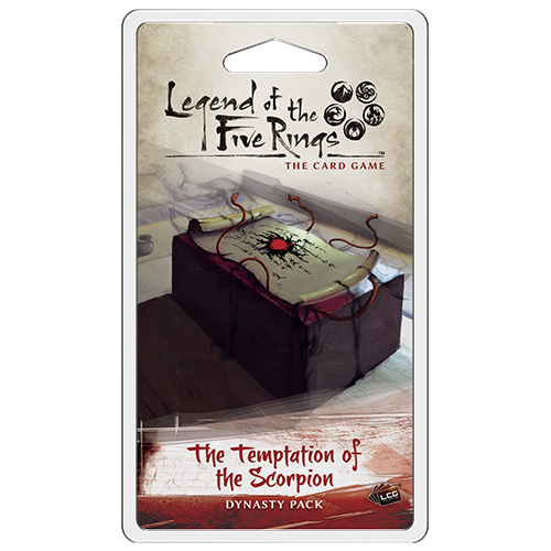 Legend of the Five Rings - LCG : The Temptation of the Scorpion