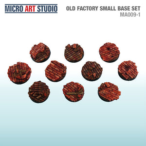 Micro Art Old Factory Small Bases