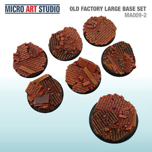 Micro Art Old Factory Large Bases